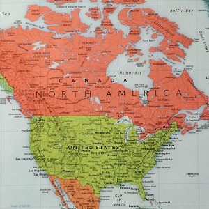 World map pasation travellers map of north america gumiabroncs Choice Image